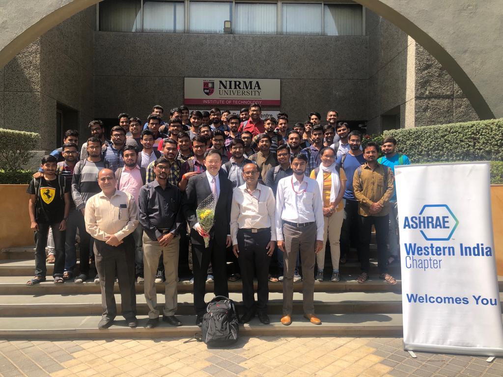 Mr.Wei Sun, USA at Nirma University